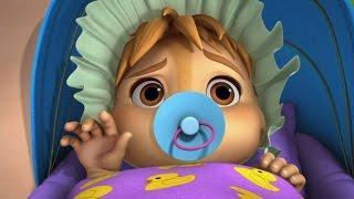 Alvinnn!!! et les Chipmunks | Le bébé d'Alvin | NICKELODEON JUNIOR