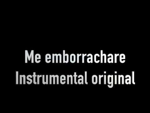 Grupo Extra - Me emborrachare - karaoke Original