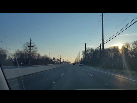 Driving by Burlington,New Jersey