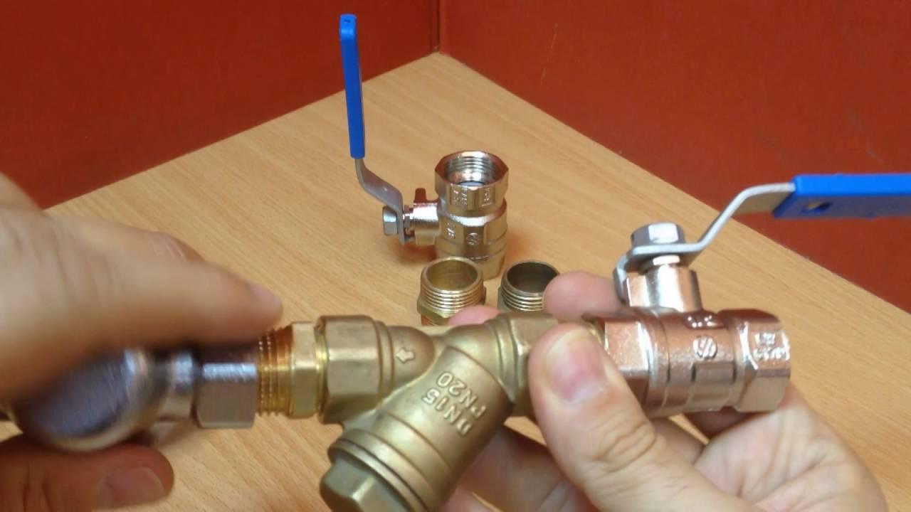 Llaves de esfera o bola para agua youtube for Construccion de piletas de agua