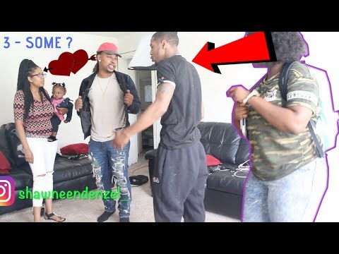 """IM LEAVING YOU FOR A COUPLE"" PRANK ON BOYFRIEND!!!"