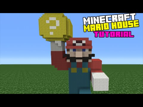 minecraft how to make mario
