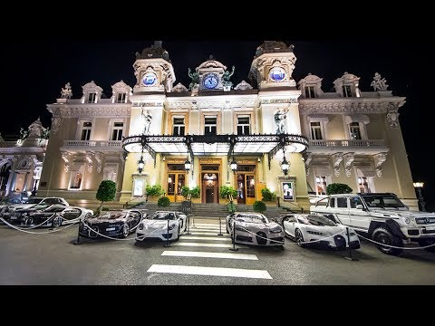 Crazy night in Monaco, more €50 Million on the Casino Square!!