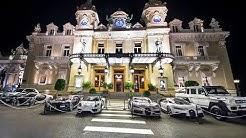 Crazy night in Monaco, more than €50 Million on the Casino Square!!