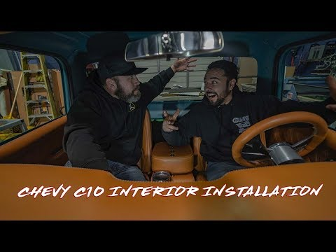 Chevy C10 Interior Installation