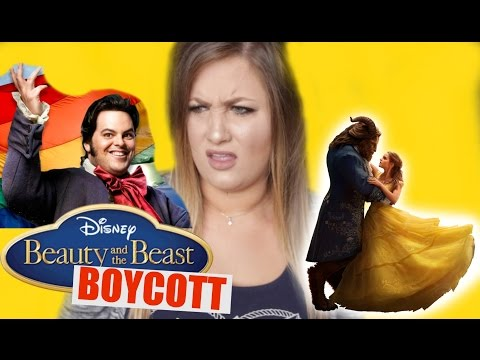 Thumbnail: GAY CHARACTER?! Beauty and the Beast BOYCOTT RANT!