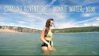 Camping Adventure at Minnie Water NSW
