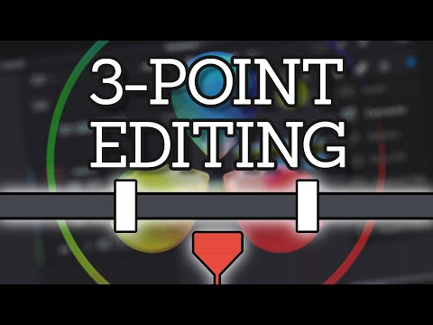 Basic 3-Point and 4-Point Editing in DaVinci Resolve