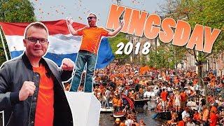 JUMPS OF THE BRIDGE! //Kingsday 2018 Amsterdam // 022 the vlog