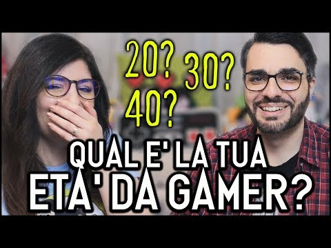 TEST: CALCOLA LA TUA ETÀ DA GAMER!