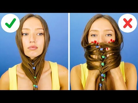 33 Cool Hairstyle Tricks And Hacks Youtube