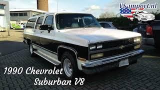 1990 Chevrolet suburban v8 | VS-import.nl