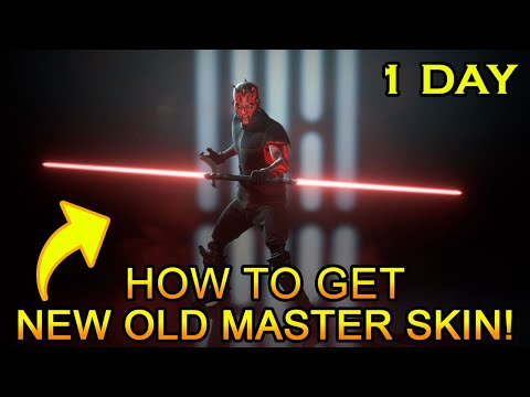 How To Get The New Old Master Skin + Other Event Skins Fast (In 1 Day)! - Star Wars Battlefront 2
