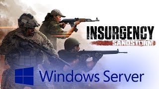 how to make an insurgency dedicated server tutorial 2016
