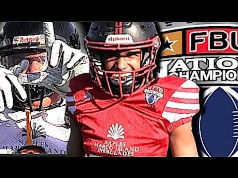 🔥🎬 8th Grade Championship Game | LA Central vs Orange County  | FBU SouthWest Regionals |