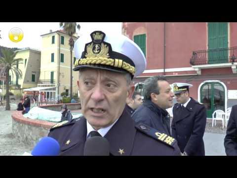 L'Ammiraglio Giovanni Pettorino visita Andora e Laigueglia: video #2