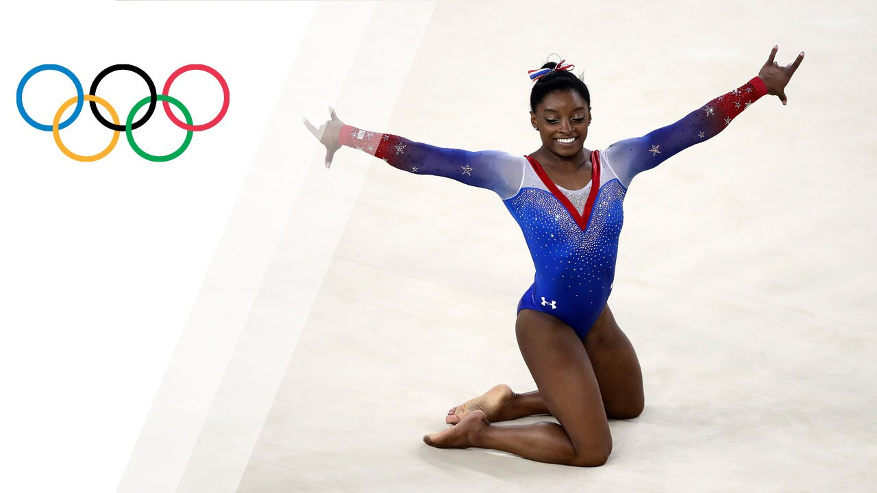 Simone Biles Becomes First Woman to Win Five US All-Around Titles, Sweeps US ...