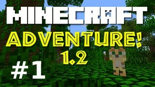 "Minecraft Adventure! E01 ""Hole in the Ground!""  (Minecraft 1.2 Game-play)"