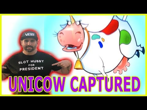 🤯 UNICOW CAPTURED BY SLOT HUBBY 💪🏼 BIG UNICOW WIN FOR THE HUBBY!