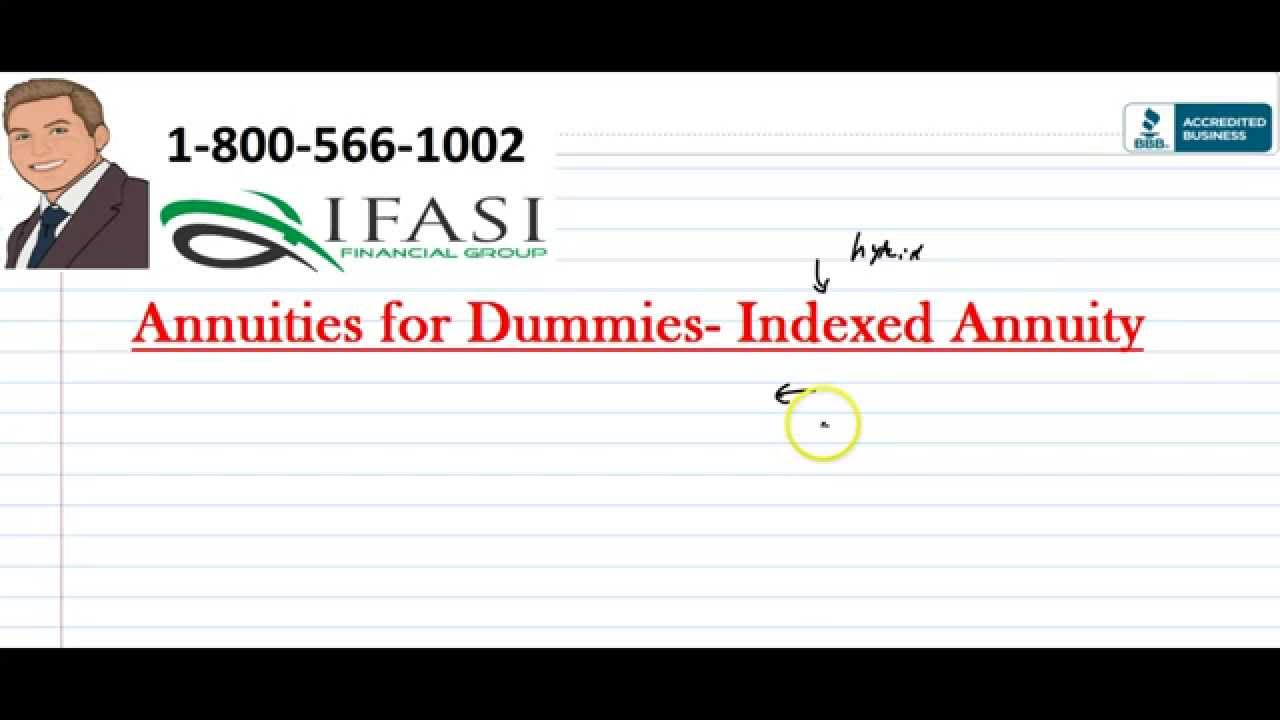 Annuities for Dummies ***Part 4*** Indexed Annuities for ...