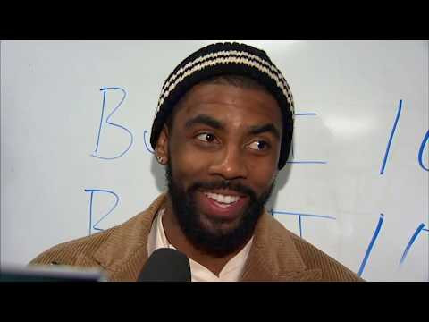 Kyrie Irving prefers a clear mask for vision on the court | ESPN