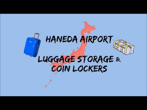 Baggage Storage and Coin Locker Guide in Haneda International Airport, Tokyo-Japan