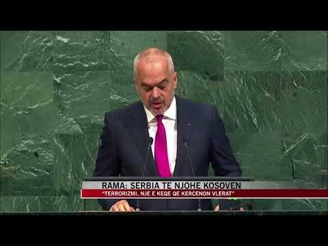 Rama flet në Asamblenë e Përgjithshme të OKB-së - News, Lajme - Vizion Plus