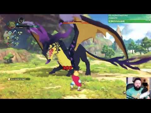 Fighting a Big Dragon Twitch Stream Fail overlukk