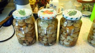 Традиционный рецепт консервирования белых грибов (дополнение). Сортировка и обработка грибов
