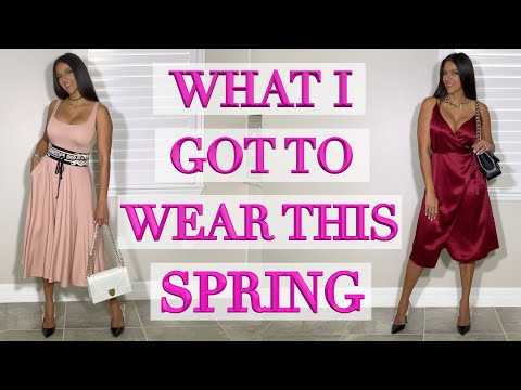 Clothing Haul & Try On: What I Bought to Wear for Spring!