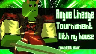 Tournament On Rogue Lineage | Roblox | Noclypso