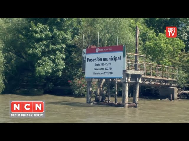 CINCO TV - Tigre recuperó un importante predio en el Delta