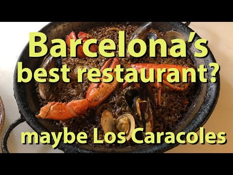 Barcelona's Best Restaurant? maybe Los Caracoles