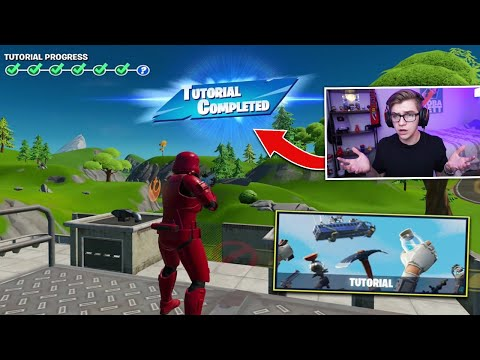 I Played The Fortnite Mobile TUTORIAL As A PRO Player... (why Did They Add This)