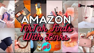 AMAZON FINDS WITH LINKS! Part 6 | TikTok Made Me Buy It Compilation | Amazon Must Haves 2021