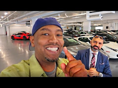 SUPERCAR SHOPPING IN CHICAGO!!!