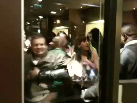 Fighting in McDonalds Tallaght