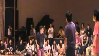 2012年NAOKAN夏合宿 あやの・みかぽん・ありさ vs ゆうと・たかや・P-...