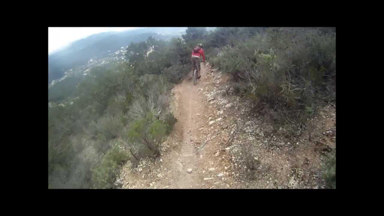 The big hill in Ibiza HD Ride Ibiza  mountain bike Europe