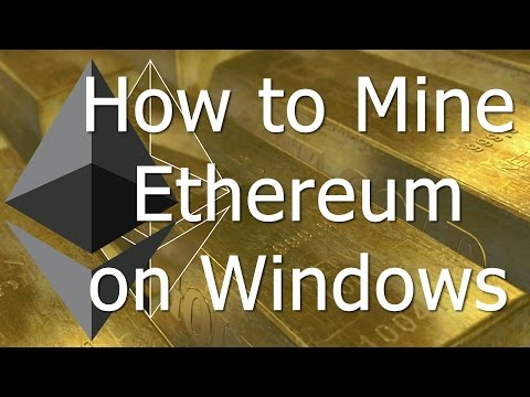 how to begin mining ethereum