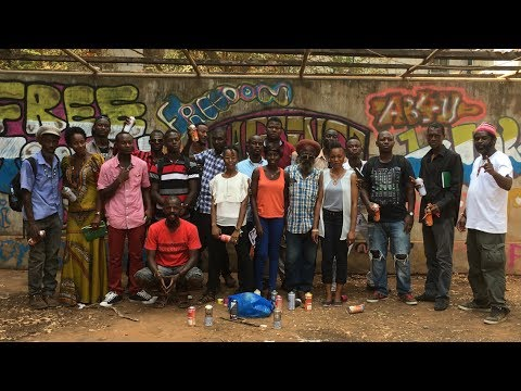 8 Days in Sierra Leone- Artist Aaron Hosannah - Crush Proof