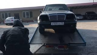 Начало болтшого проекта Mercedes Benz W124 E500 WOLF