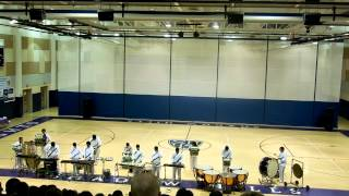 Coachella Valley High School Winter Drumline 2014