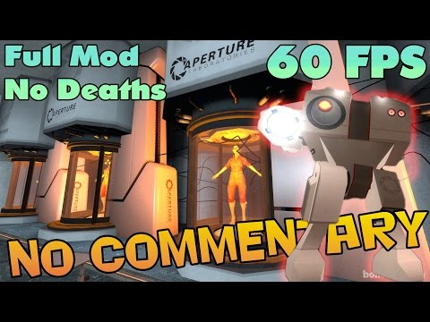 Portal: The Flash Version - Full Walkthrough 【NO Commentary】