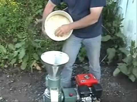 6.5hp gas pellet mill