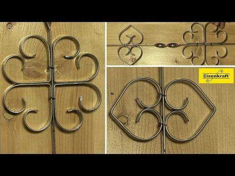 13. Eisenkraft - Window Bar 4 - Изготавливаем кованые решетки на окна 4. Холодная ковка