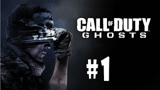 Call of Duty: Ghosts - Walkthrough - Part 1 - Ghost Stories (PC HD) [1080p]
