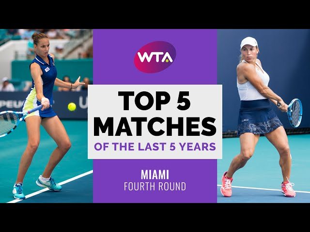 Miami | Top 5 Fourth Round Matches of the Last 5 Years