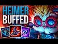 HEIMERDINGER 9.19 IS AMAZING | CHALLENGER HEIMERDINGER MID GAMEPLAY | Patch 9.19 S9