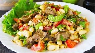 Салат с Куриной Печенью Очень Вкусный и Питательный